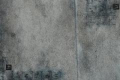 40. Zapis – THE END - Epitafium (2006, 200x130 cm, akryl, płótno)