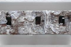 Marek Kulig, Petitiones – Reliquiarium – Liber Manu Sceiptus (2013, 27x57cm, assemblage, akryl)