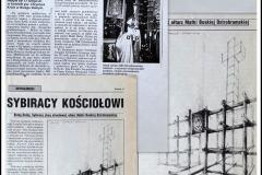 """Projekt """"POMNIKA OŁTARZA"""" dla Dolnobrzeskiego Koła Związku Sybiraków.."""