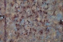 41. Zapis Inskrypcja (2006, 100x70cm, akryl, płótno)(1)
