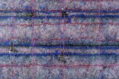 44. 7 Zapis – [Relikwiarz] (2005, 200x200 cm, technika własna, płótno)