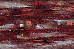 53. Zapis-Całun, rok 2003, 30x190cm