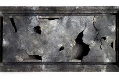 Marek Kulig, COMPLETORIUM, 71x141cm, assemblage, 2018 (1)
