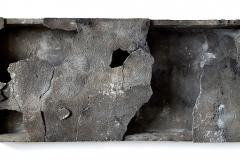 Marek Kulig, SARCOPHAGUM - COMPLETORIUM, 2018, assemblage, 48X108cm