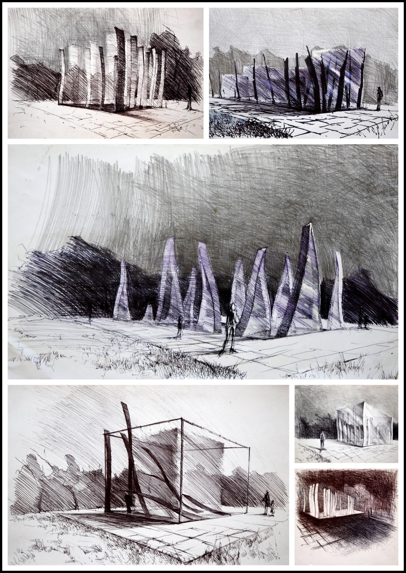 Projekt koncepcyjny fontanny dla firmy Stephan Elektronik Investment Sp. zo.o., 1996