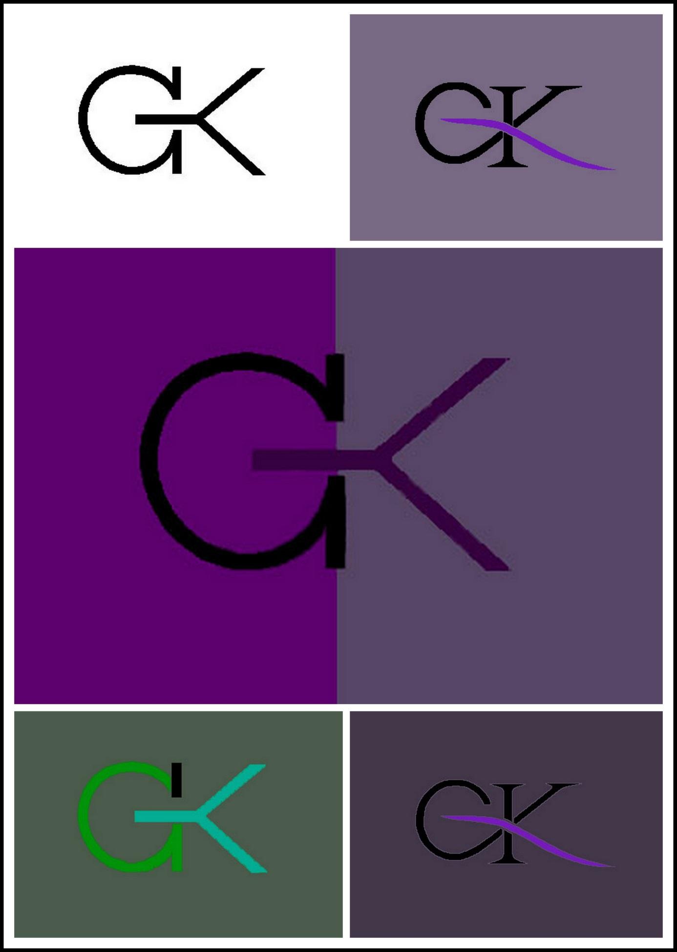 """Projekt logo (wraz z animacją) dla irlandzkiej firmy """"GK CARPENTRY FASHION"""" Wrocław, 2008"""