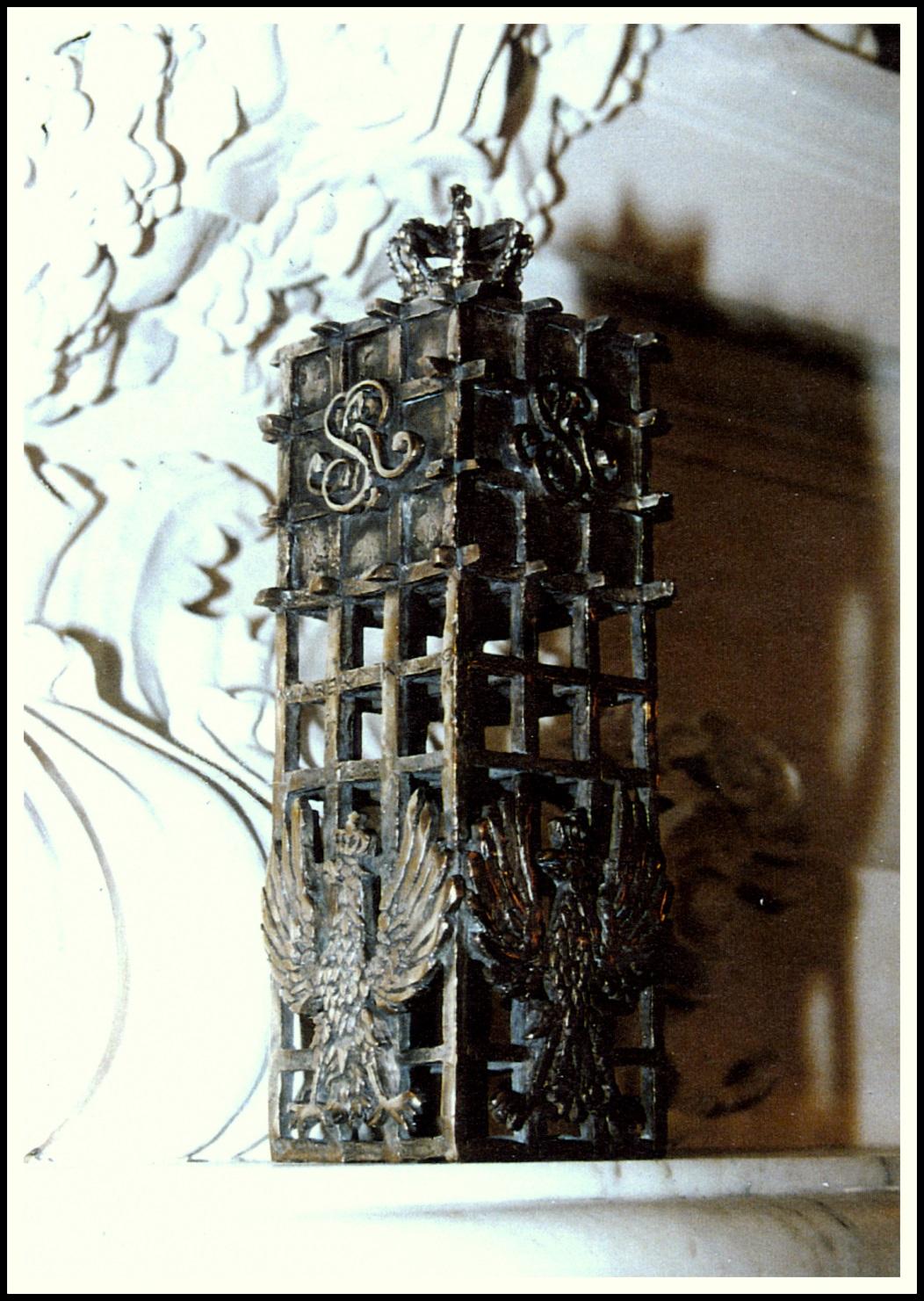 Urna na prochy ostatniego Króla Polski Stanisława Augusta Poniatowskiego, prezentacja, uroczyste przekazanie - Muzeum Łazienki Królewskie w Warszawie,