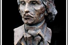 """""""Popiersie Szymona Konarskiego"""", Wilno (ekspozycja stała, gips patynowany), 1994"""